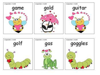 Hugs and Kisses: Articulation K and G