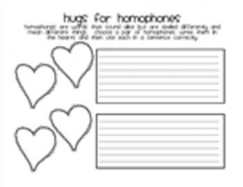 Hugs for Homophones