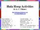 Hula Hoop Activities