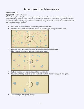 PE Game Sheet: Hula Hoop Madness