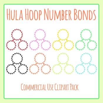 Hula Hoop Number Bonds Clip Art Commercial Use