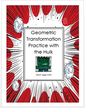 Hulk Geometric Transformation Project