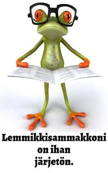 Hullunkurinen lemmikkisammakkoni (Finnish Edition)