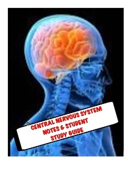 Human A&P Central Nervous System Lecture notes and Student Study Guide