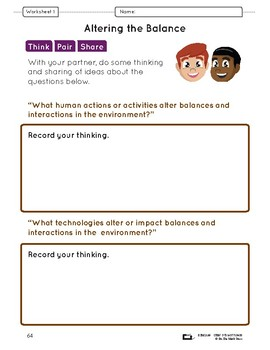 Human Actions & Technology Lesson Plan Grade 7