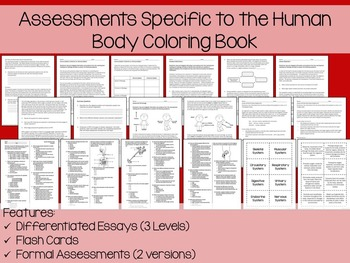 Human Body Coloring and Science Literacy Unit Assistant