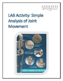 Human Anatomy & Physiology Lab Activity: Analysis of Joint