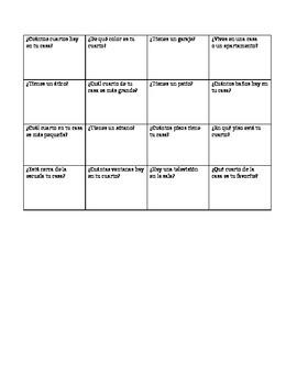 Human Bingo Avancemos 5.1