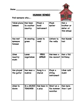 human bingo icebreaker human bingo icebreaker