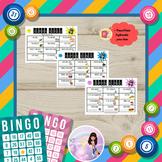 Human Bingo (Level 1) - Present Simple