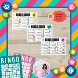 Human Bingo (Level 3) - Past Simple