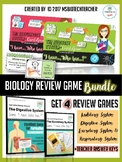 "Human Biology Review Game Bundle (""I have...Who has...?"")"