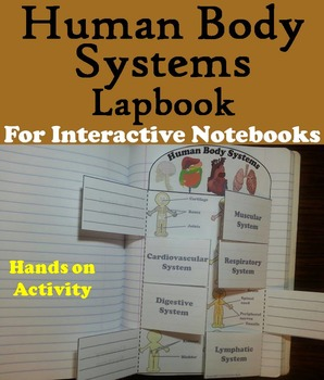 The Human Body Systems Interactive Notebook/ Project Activity