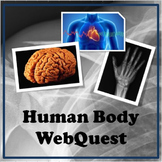 Human Body Systems Distance Learning WebQuest