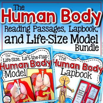 Human Body and Body Systems Science Unit - Reading Passages and ...