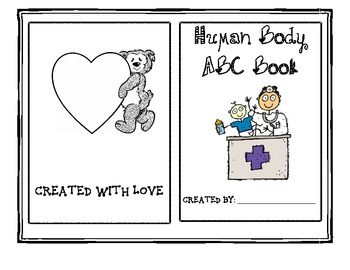 Human Body ABC Book - Project Based Learning
