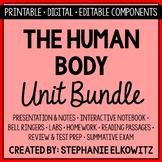 Human Body Anatomy and Physiology Unit Bundle