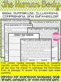 Human Body Articles: Circulatory System, Skin, Germs, Body