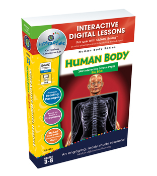 Human Body BIG BOX - NOTEBOOK Gr. 3-8