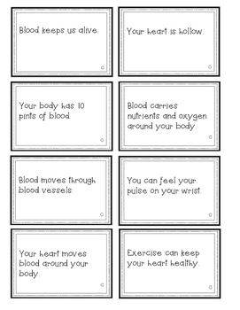 Human Body Systems BUMP! Review Game