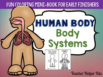 Human Body-Body Systems Coloring Book