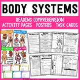 Human Body and Body Systems Science Unit - Reading Passages and Activities!
