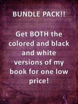 Human Body Book-Bundled both Colored and Black and White