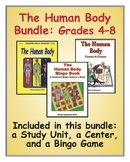 Human Body Bundle for Middle-Grade Science Classes