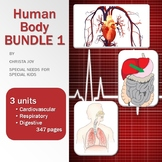 Human Body Bundle 1 for Special Education