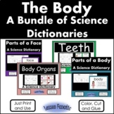 Human Body Bundle of Science Color, Cut, Glue Science Dict