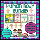 Human Body Systems Unit | Passages & Questions | Research Report Bundle