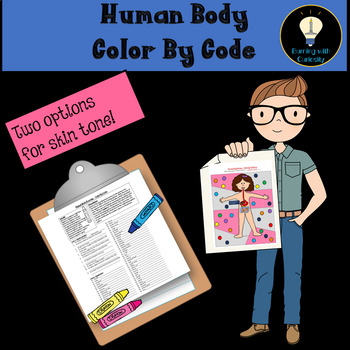 Human Body Color By Code