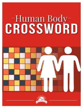 Human Body Crossword Puzzle {Editable}