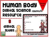 Human Body Digital Activities for Ipad and Google Drive
