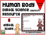 Human Body Digital Activities for Ipad and Google Drive