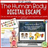 Human Body Escape Room, Biology, Anatomy, Digital Escape Ⓡ