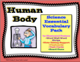 Human Body Essential Vocabulary Pack