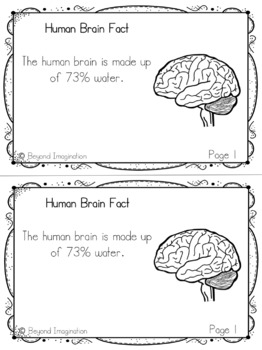Human Body Fun Facts | 64 Pages for Differentiated Learning +Bonus Pages