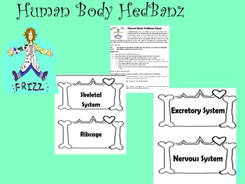 Human Body Hedbanz Game
