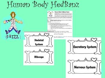 Human Body Hedbanz Game