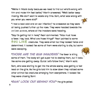 Human Body Immune System For Kids: Battle with the Bugs