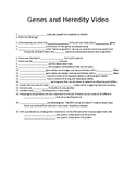 Human Body In Action: Genes & Heredity Video Worksheet