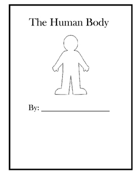 Human Body Informational writing book