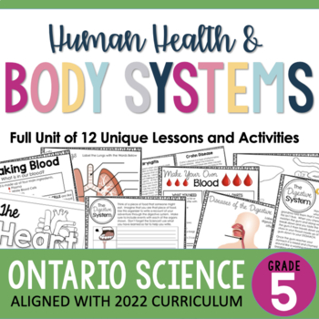 (Gr. 5) Human Body Inquiry Unit - Digestive, Respiratory, & Circulatory Systems