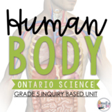 ONTARIO SCIENCE: Gr. 5 Human Body Full Inquiry Based Unit