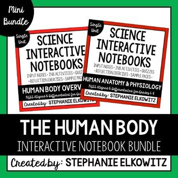 Human Body Interactive Notebook Unit