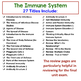 Human Body Interactive Notebooks, Warm Ups: Diseases and the Immune System