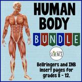 Human Body Bundle: Anatomy and Physiology Warm Ups and Bel