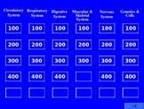 Human Body Jeopardy