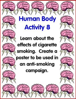 Human Body Learning Center Activities (Upper El, Middle School)